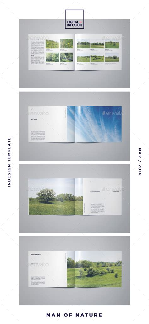 Photobook By Digital Infusion Graphicriver Indesign Photobook Templates