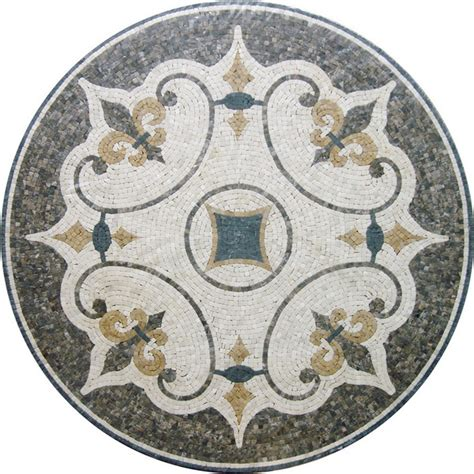 Tile Pattern Round | marble mosaic tile round mosaic medallion floor patterns