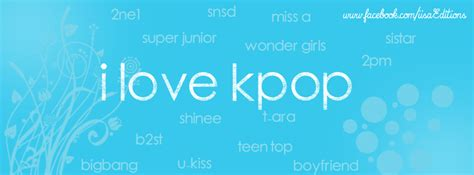 imagenes con frases kpop portada para facebook i love kpop by iisaeditions on