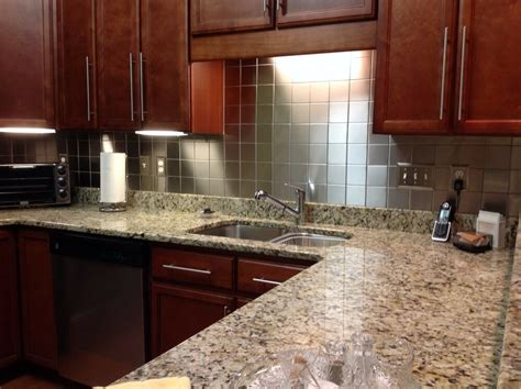 metal wall tiles kitchen backsplash 10 sq ft 4 quot x4 quot stainless steel metal backsplash wall tiles made in the usa ebay
