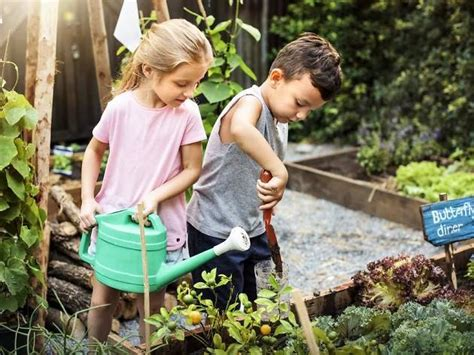 kids gardening spots including childrens gardens
