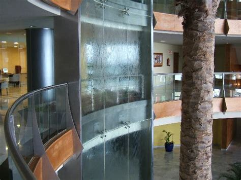 Small Water Fountain indoor waterfall picture of hotel r2 pajara beach costa