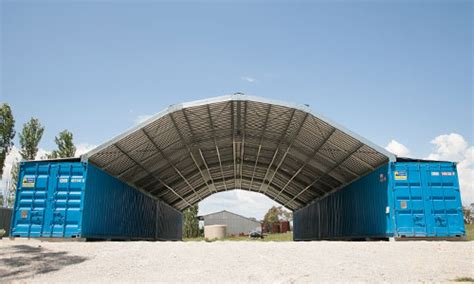 Portable Barn Kits Podroof Usa Shipping Container Roof Kits