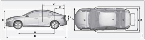 volvo  dimensionss specifications specifications volvo  owners manual