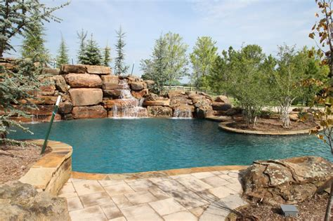 Aquascape Pools Okc by Aquascape Pools Landschaftsarchitekt 2001 E Britton Rd