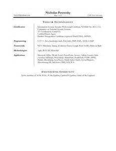 non technical resume format technical resume package brightside resumes