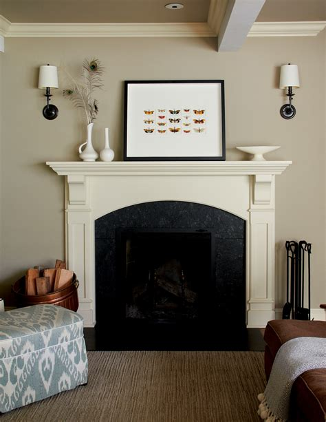 How To Decorate Around A Fireplace by Secrets From A Stylist How To Decorate Your Fireplace Mantle