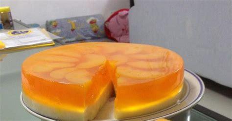 culinary kitchenette peach konnyaku cake  lily chua