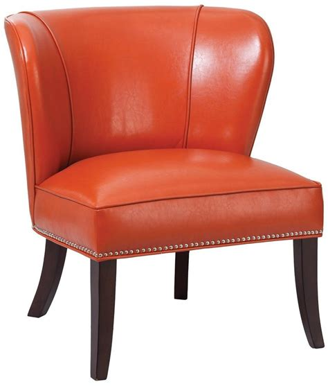 burnt orange chair burnt orange accent chair home furniture design