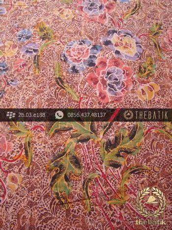 kain batik buket kawung jenggot kain batik cap tulis motif buket pesisiran merah