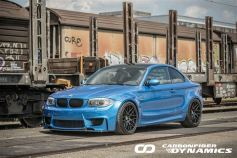 Bmw 1er Coupe Tuning by Carbonfiber Dynamics Carbon Tuning Am Bmw 1er M Coup 233