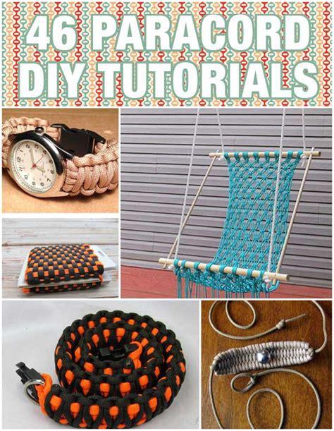 diy projects tutorials 46 paracord projects diy tutorials