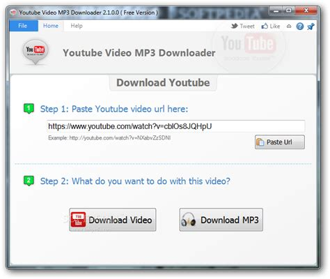 download mp3 from url youtube video mp3 downloader free download softpedia