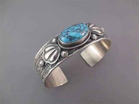 blue ridge turquoise cuff bracelet by navajo