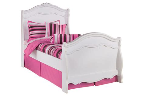 exquisite sleigh bedroom set exquisite twin sleigh bed ashley furniture homestore