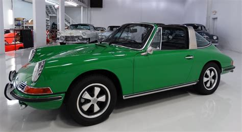 Signal Green 1968 911 S Targa Paint Cross Reference