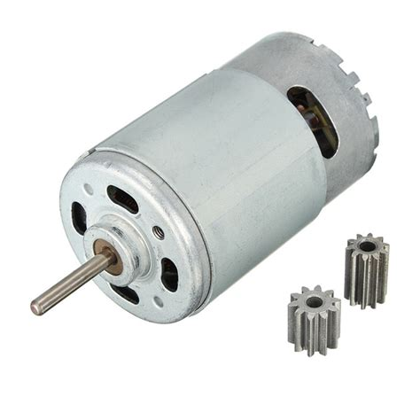 Jual Brushed Dc Motor dc motor 12v 30000 rpm for children electric car rc ride baby car electric motor rs550 gearbox