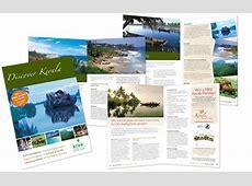 30 Beautiful Travel Brochure Designs Kerala Tourism Brochure