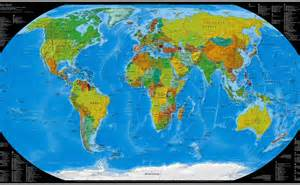 Wide World Of Maps by World Wide Map 1920x1080 Hd Wallpaper