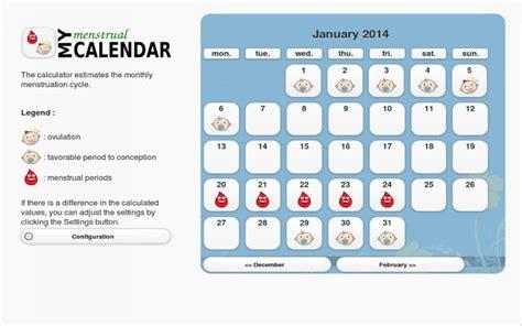 my menstrual calendar chrome web store
