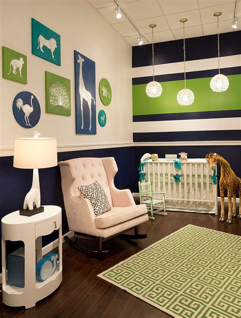 35 Wonderful Nursery Design Ideas Loombrand Navy And Green Nursery Decor