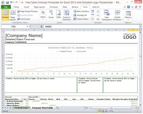 sales forecast template powerpoint free sales forecast template for excel 2013 with editable