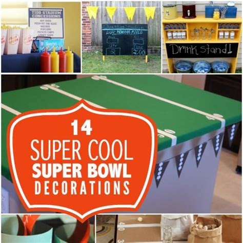 super cool super bowl party decoration ideas