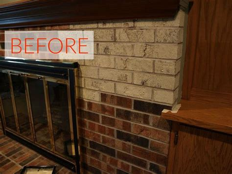 10 gorgeous ways to transform a brick fireplace without