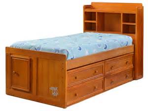 Twin Beds With Bookcase Headboard Hoot Judkins Furniture San Francisco San Jose Bay Area Jay