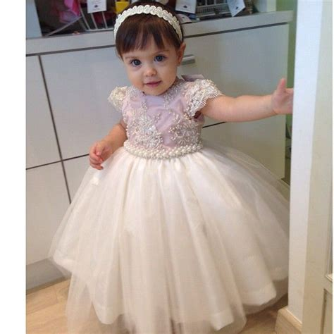dress renda baby vestido bordado branco e azul tiara de p 233 rolas baby