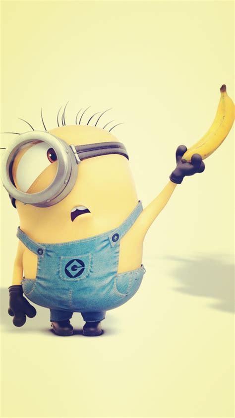 minion bananas wallpaper despicable me inspired yellow minion and banana iphone 6