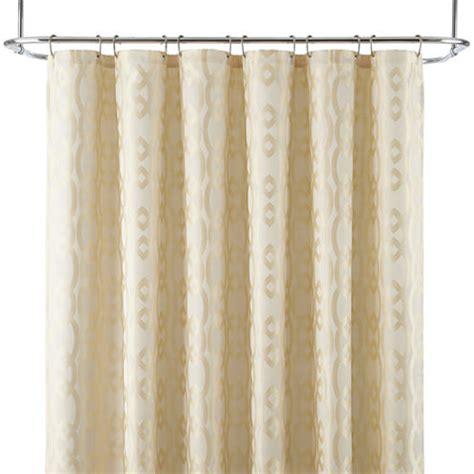 liz claiborne shower curtains liz claiborne 174 linx shower curtain jcpenney