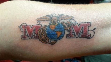 marine mom tattoos my marine tattoos marine