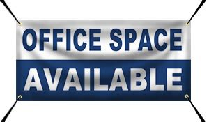 Office Space Available For Rent Banner Idea Gallery By Wholesalebannerz