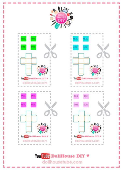 miniatures y dollhouse plantillas 367 best images about dollhouse cosm 233 ticos e higiene on