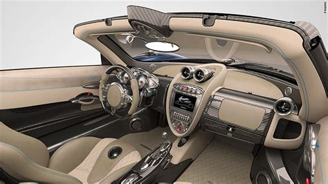 pagani huayra interior pagani reveals 2 4 million convertible