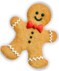 cute happy gingerbread man png cake