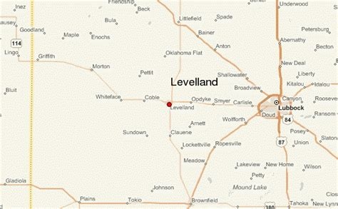 levelland texas map levelland location guide