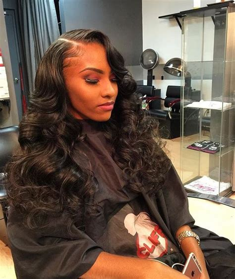 how to loose tight african american hair 25 best ideas about wavy weave on pinterest curly sew