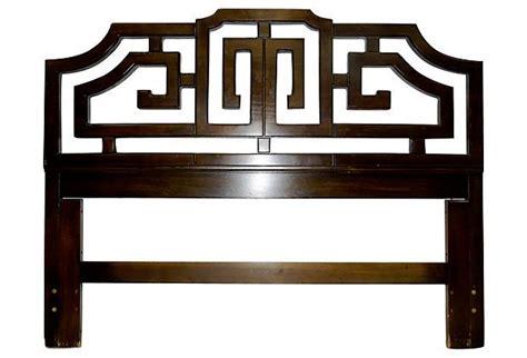 asian inspired queen size headboard 1960s asian style queen headboard
