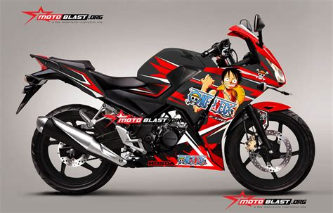 Decal Cbr 150 Lokal Black Shark Fullbody Cutting Pola modifikasi honda cbr150r black anime one dan kise ryota motoblast