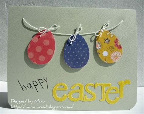 Easter Handmade Crafts - easter cards craft card ideas