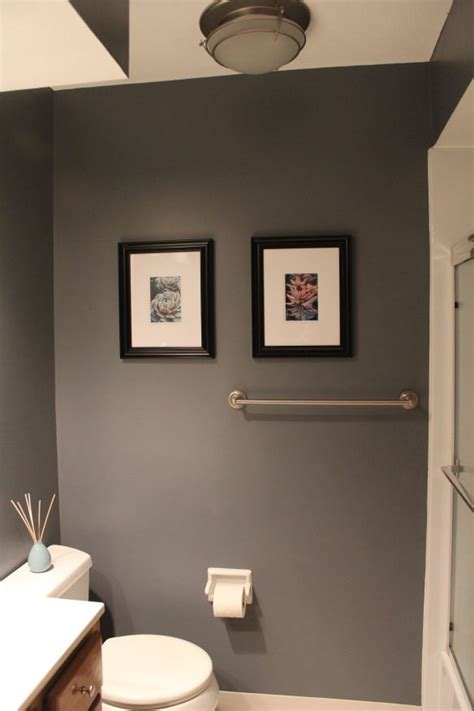 white gray black and add plum accents house ideas - Grey Bathroom Accent Color