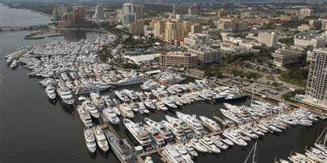 palm beach boat show exhibitor list the largest megayachts in palm beach superyachtdigest