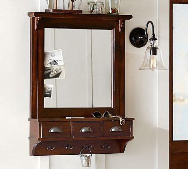 Entryway Wall Organizer With Mirror 38 Best I Can Build That Images On Garage