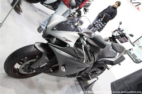 motosiklet fuari yamaha standi fotograf galerisi