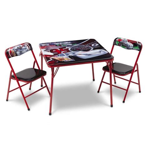Toddler Folding Table And Chairs Folding Table And Chairs With Disney Cars Interior Home Design Make Folding Table