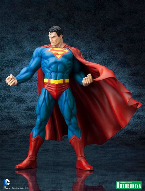 Kotobukiya Artfx Statue Superman kotobukiya dc comics superman for tomorrow artfx statue
