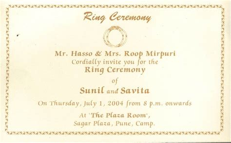 ring ceremony invitation card template free wedding ceremony invitation card template matik for