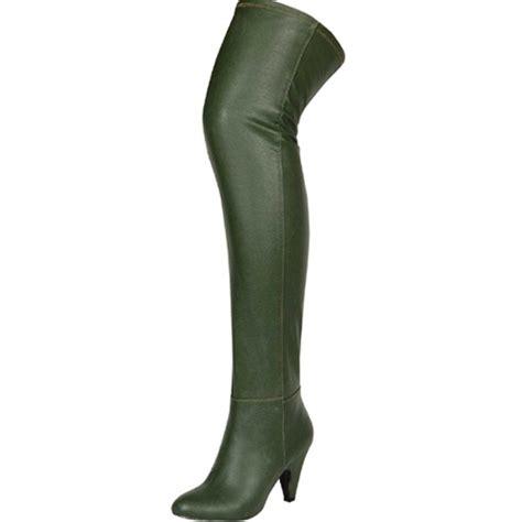 the knee high thigh high kitten heel slouch